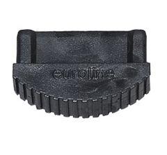 Euroline Premium Leiterfuß schwarz 84x25mm Paar