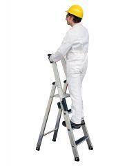 Günzburger Stehleiter mit clip-step R13 5 Stufen