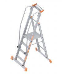 Layher Topic 1074 Plattformleiter 4 Stufen