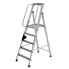 Günzburger Aluminium-Stehleiter 5 Stufen