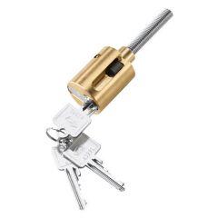 Zarges Stahlprofil-Zylinderschloss inklusive 3 Schlüssel