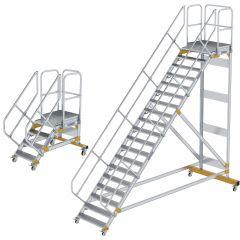 Günzburger Plattformtreppe fahrbar 45°