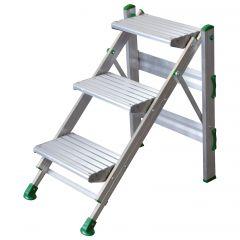 Facal Klapptreppe Plio Aluminium 3 Stufen
