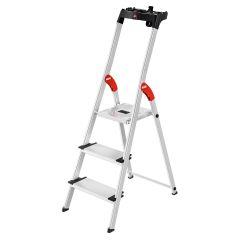 Hailo L80 ComfortLine Stehleiter 3 Stufen