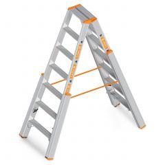 Layher Topic 1062 Treppenstehleiter mit Stufen