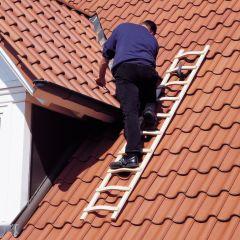 Euroline Holz Dachdeckerleiter 16 Sprossen