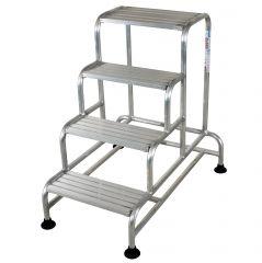 Facal Tritt Plano Maxi Aluminium 4 Stufen