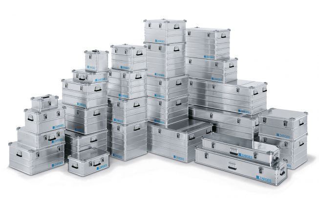 Zarges K470 Universalkiste Aluminium