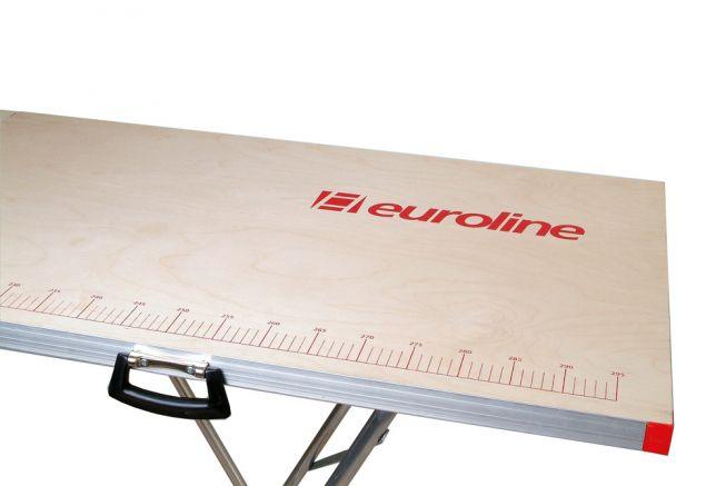 Euroline eurotap 810 Alu-Tapeziertisch 0,60m Breite 3,00m Länge