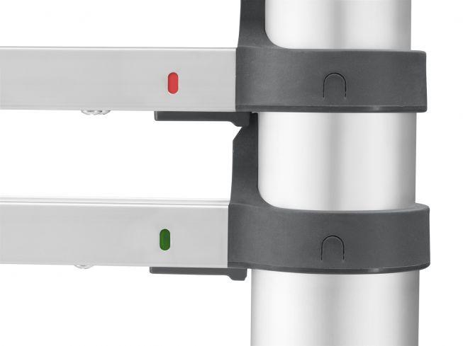 Hailo FlexLine T80 Sicherheits-Teleskopleiter 13 Sprossen